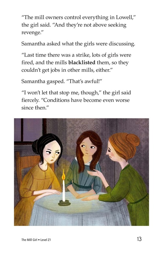 Book Preview For The Mill Girl Page 13