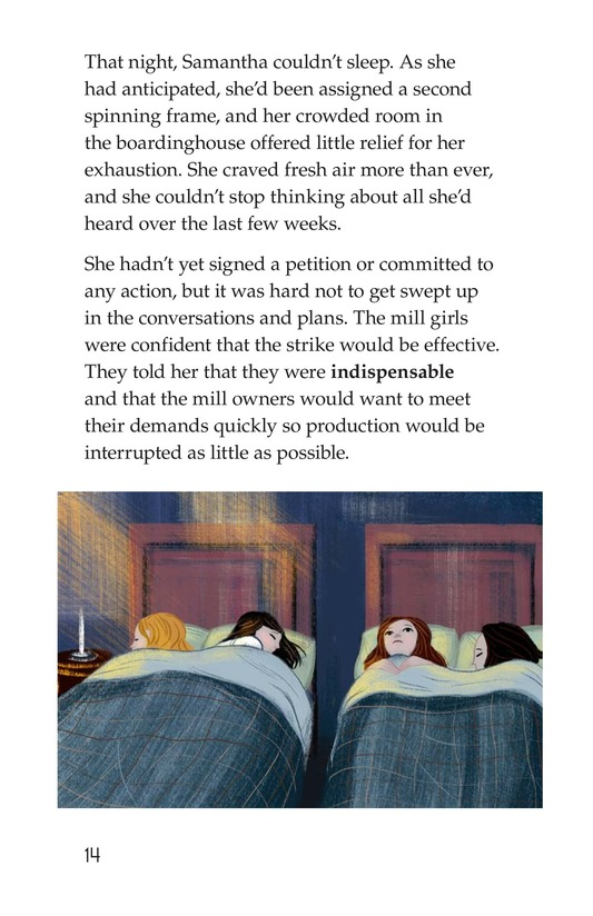 Book Preview For The Mill Girl Page 14