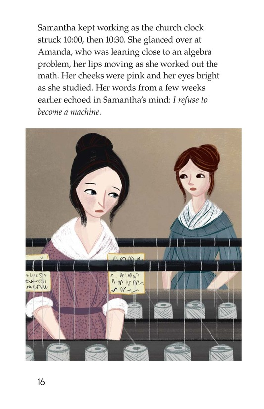 Book Preview For The Mill Girl Page 16