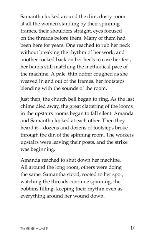 Book Preview For The Mill Girl Page 17