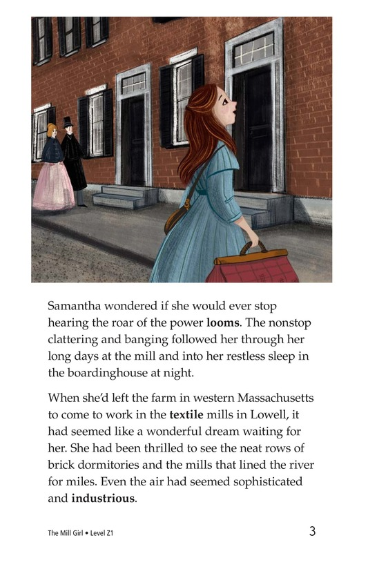 Book Preview For The Mill Girl Page 3