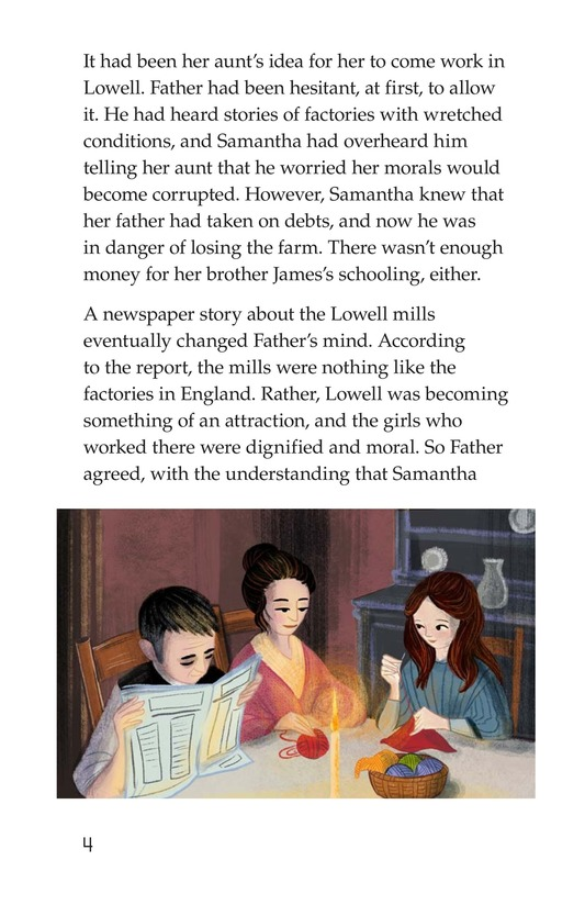 Book Preview For The Mill Girl Page 4