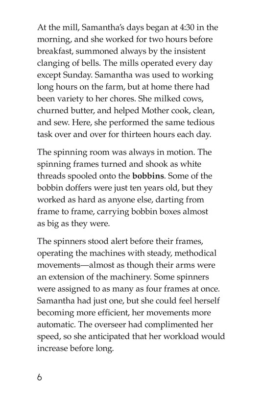 Book Preview For The Mill Girl Page 6