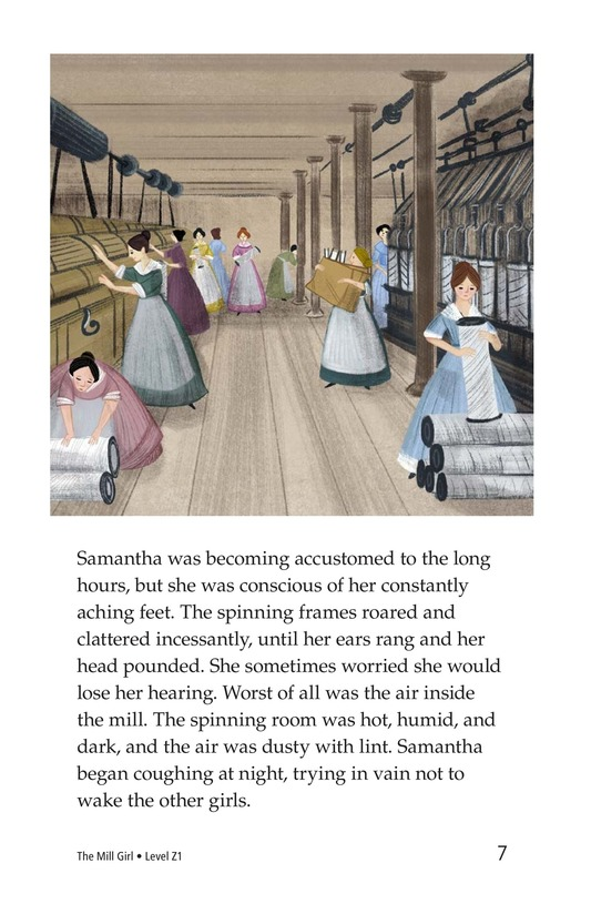 Book Preview For The Mill Girl Page 7