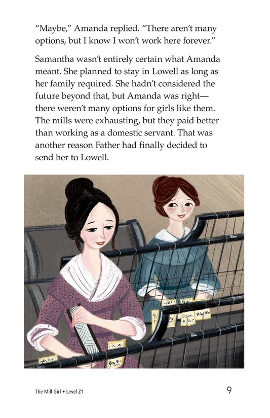 Book Preview For The Mill Girl Page 9