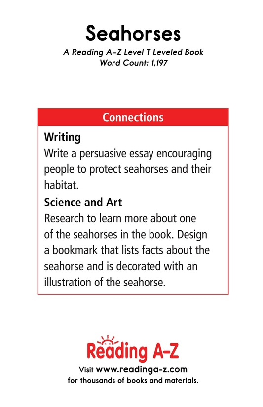 Book Preview For Seahorses Page 17