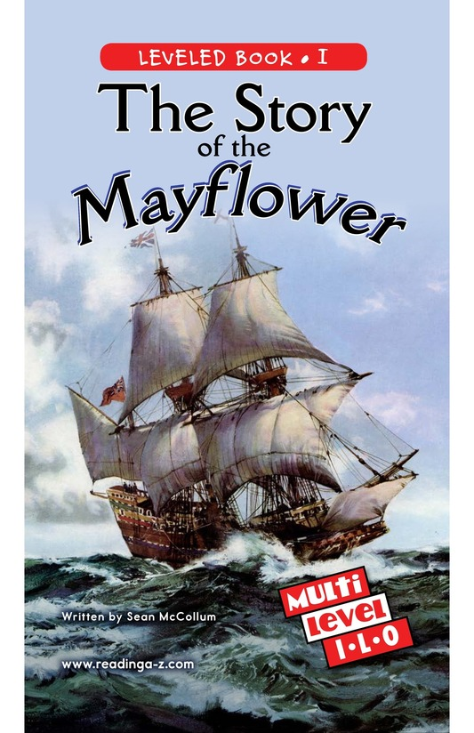 Book Preview For The Story of the Mayflower Page 0