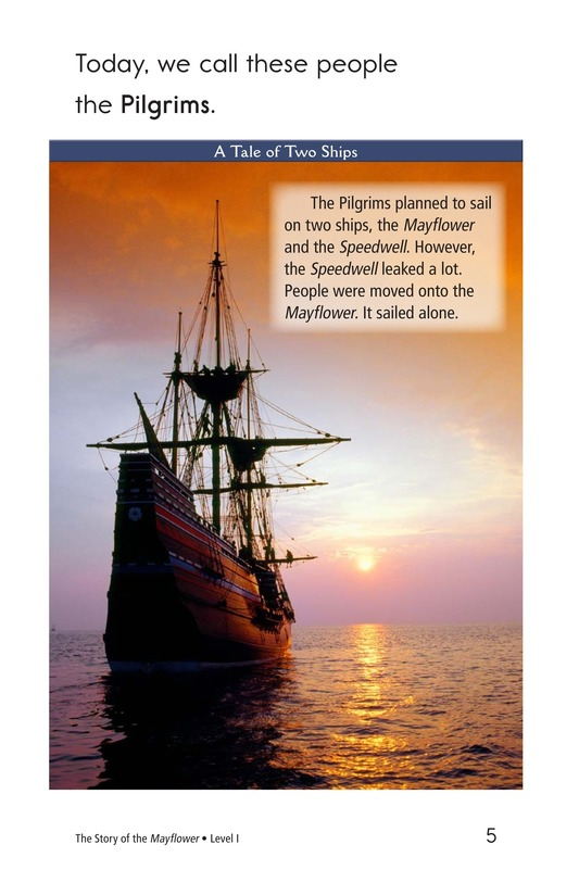Book Preview For The Story of the Mayflower Page 5