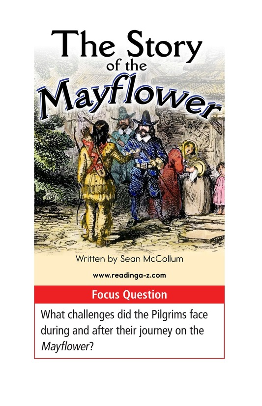 Book Preview For The Story of the Mayflower Page 1