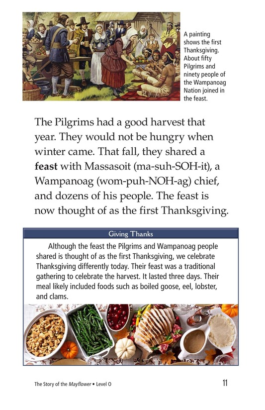 Book Preview For The Story of the Mayflower Page 11