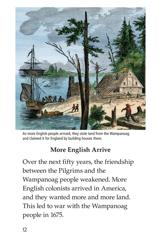 Book Preview For The Story of the Mayflower Page 12