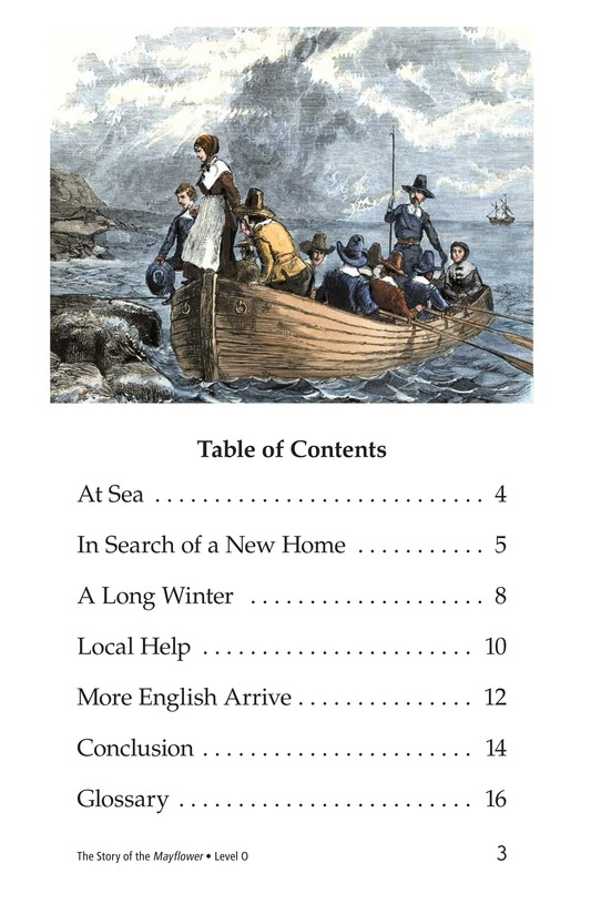 Book Preview For The Story of the Mayflower Page 3
