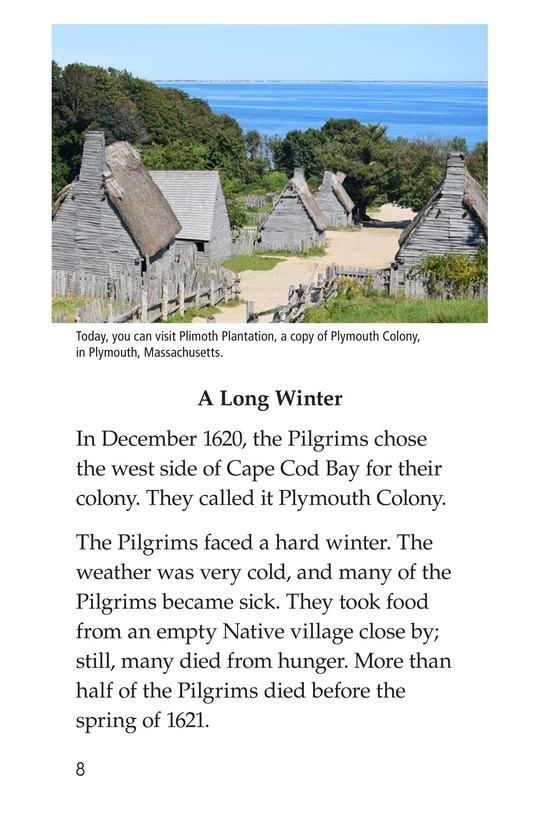 Book Preview For The Story of the Mayflower Page 8