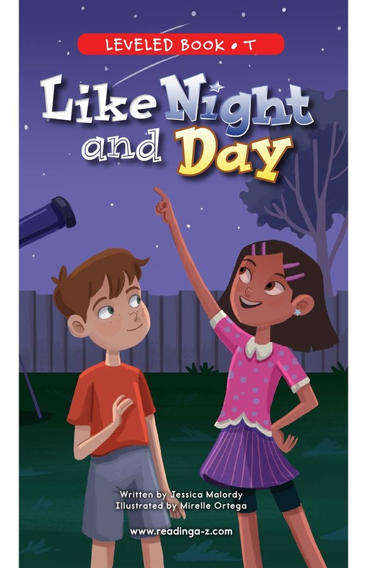Book Preview For Like Night and Day Page 0
