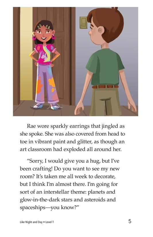 Book Preview For Like Night and Day Page 5