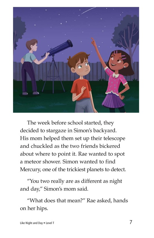Book Preview For Like Night and Day Page 7