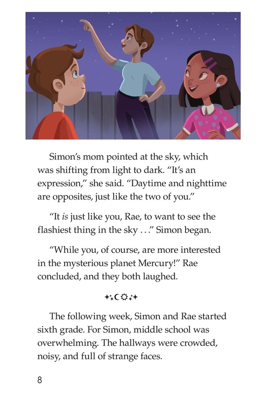 Book Preview For Like Night and Day Page 8
