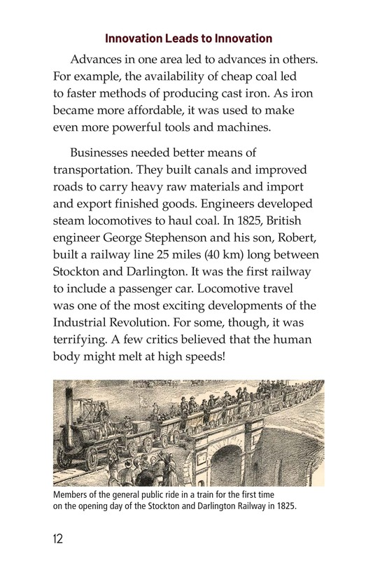 Book Preview For The Industrial Revolution Page 12