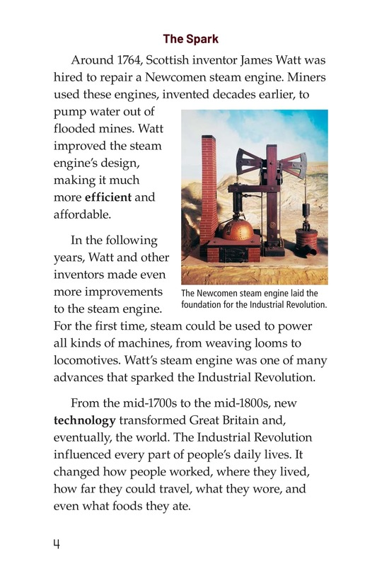 Book Preview For The Industrial Revolution Page 4