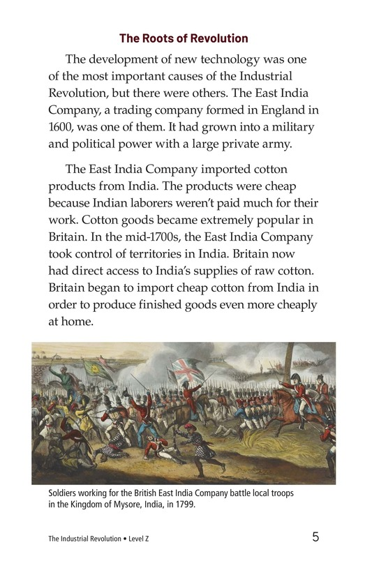Book Preview For The Industrial Revolution Page 5