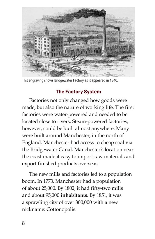 Book Preview For The Industrial Revolution Page 8