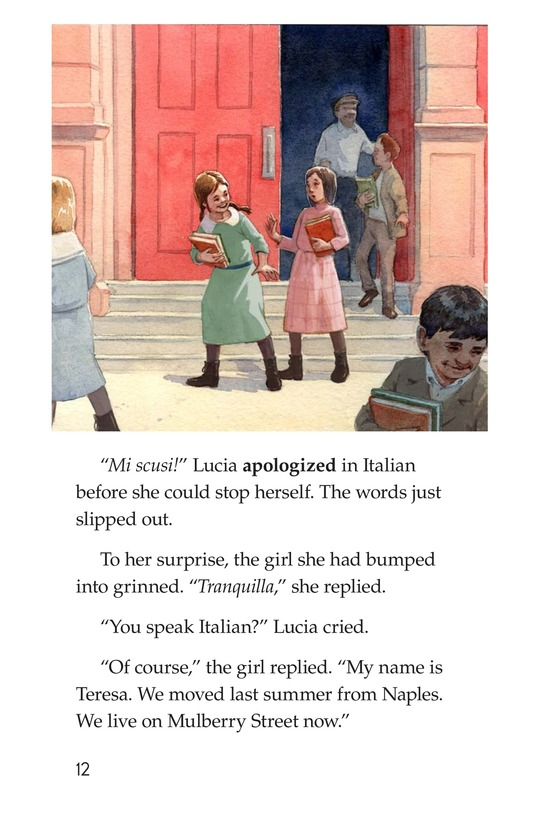 Book Preview For Lucia's New School Page 12