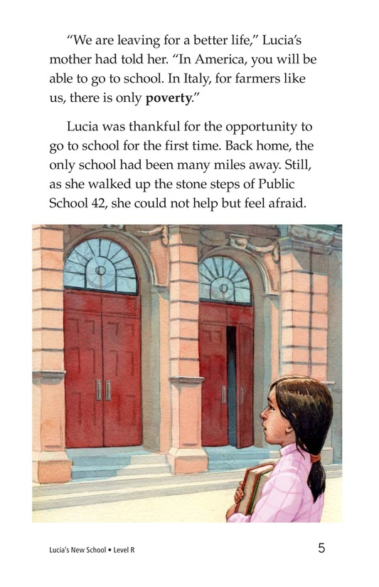 Book Preview For Lucia's New School Page 5