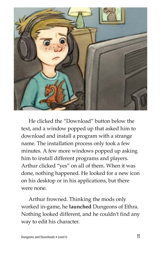 Book Preview For Dungeons and Downloads Page 11