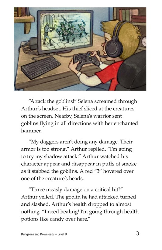 Book Preview For Dungeons and Downloads Page 3