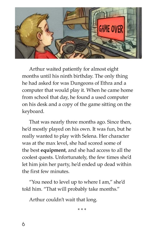 Book Preview For Dungeons and Downloads Page 6