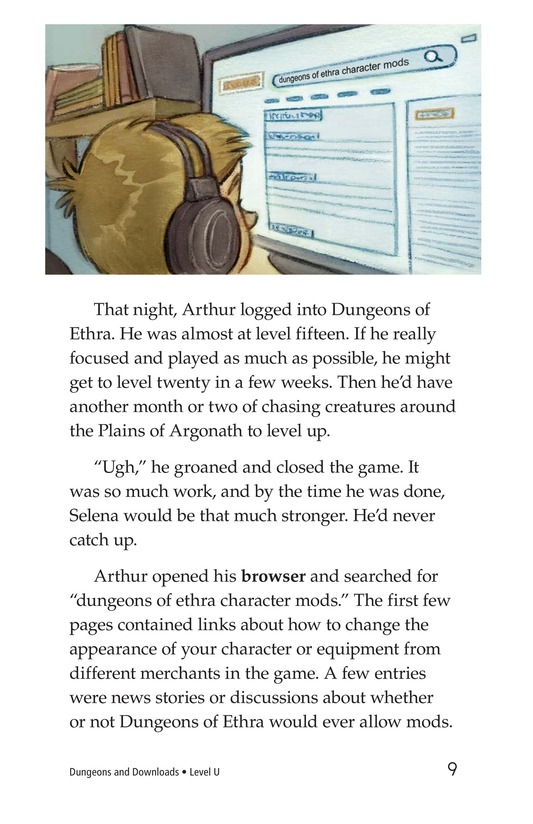 Book Preview For Dungeons and Downloads Page 9