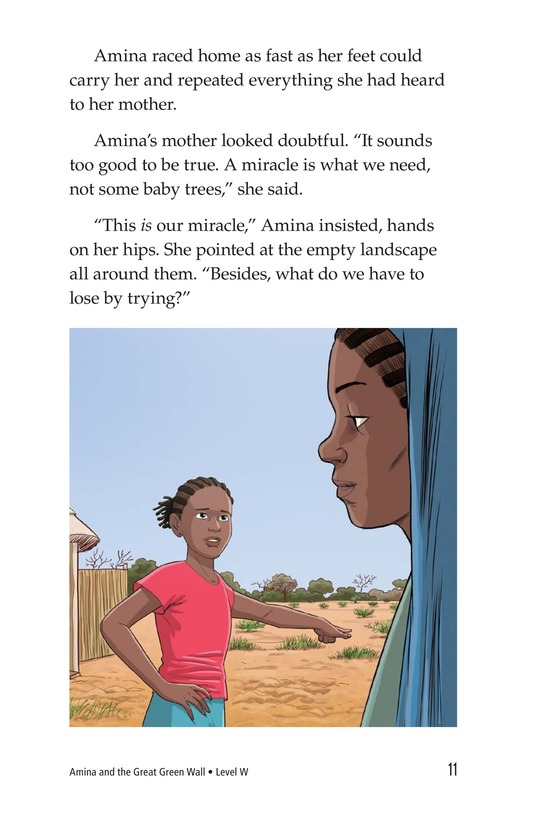 Book Preview For Amina and the Great Green Wall Page 11