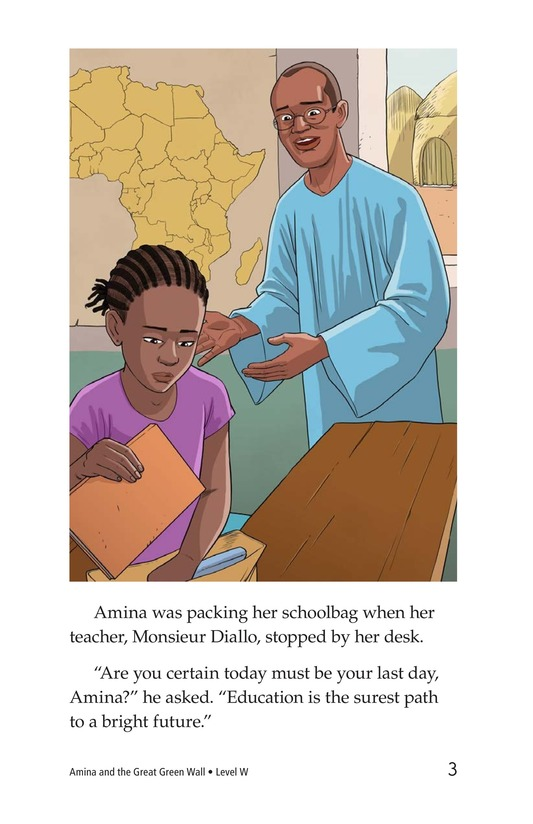 Book Preview For Amina and the Great Green Wall Page 3