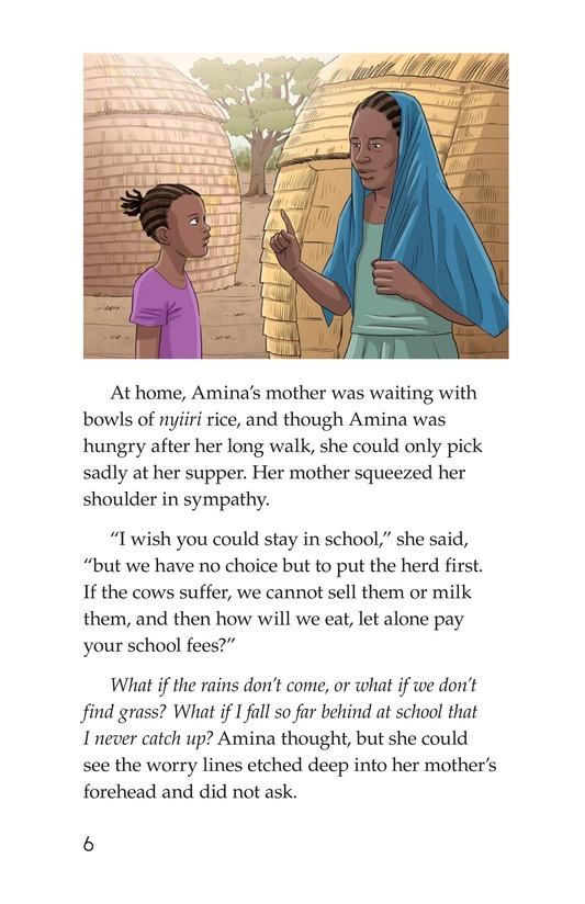 Book Preview For Amina and the Great Green Wall Page 6