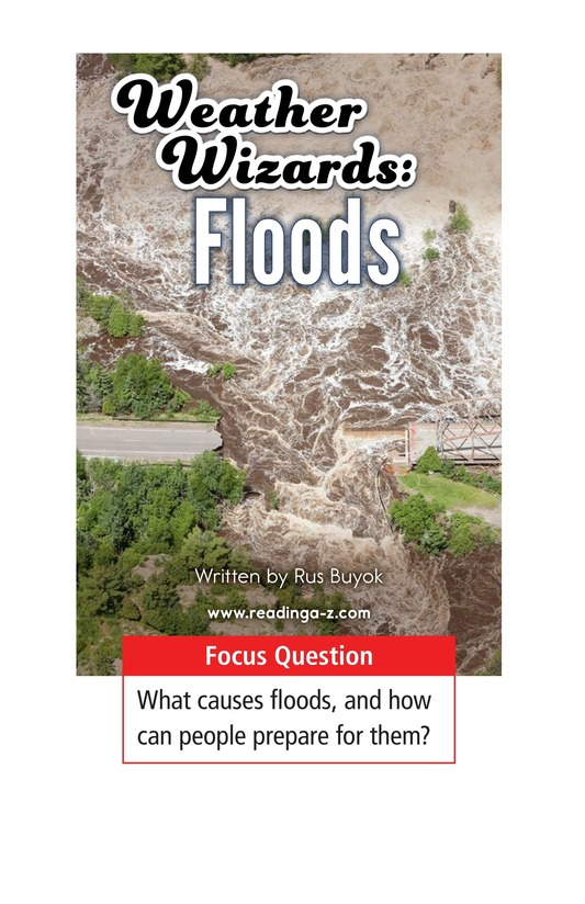 Book Preview For Weather Wizards: Floods Page 1