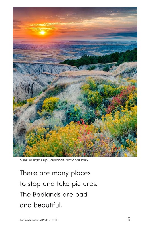 Book Preview For Badlands National Park Page 15