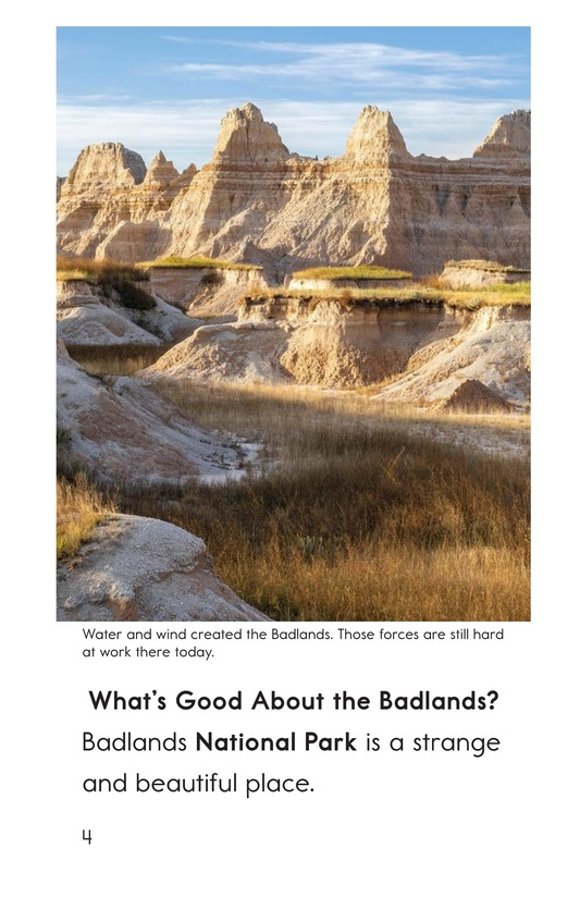 Book Preview For Badlands National Park Page 4