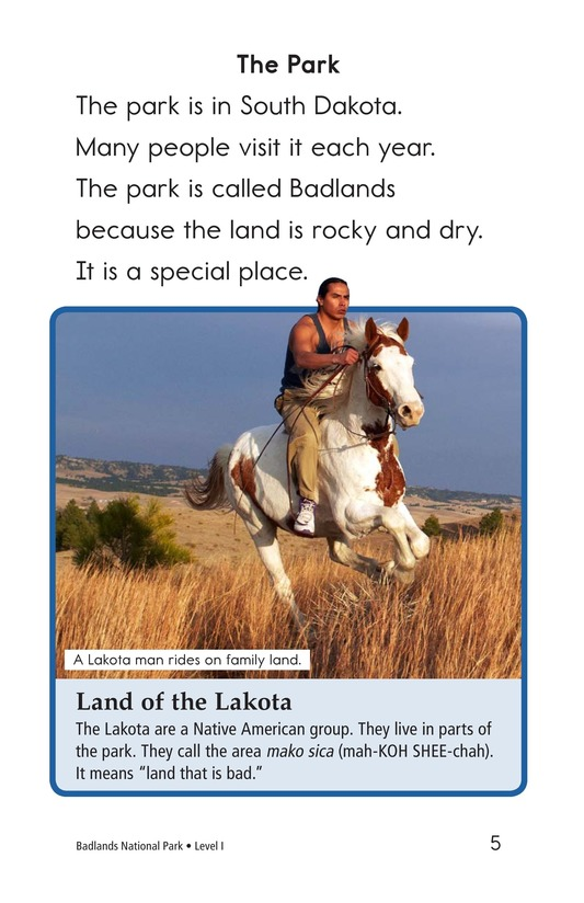 Book Preview For Badlands National Park Page 5