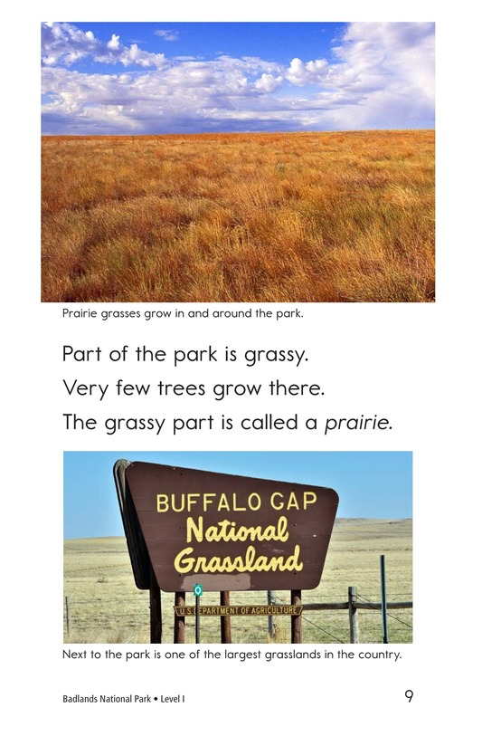 Book Preview For Badlands National Park Page 9
