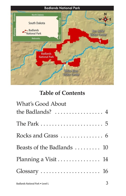 Book Preview For Badlands National Park Page 3