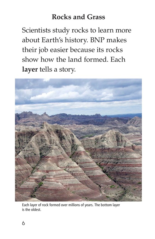 Book Preview For Badlands National Park Page 6