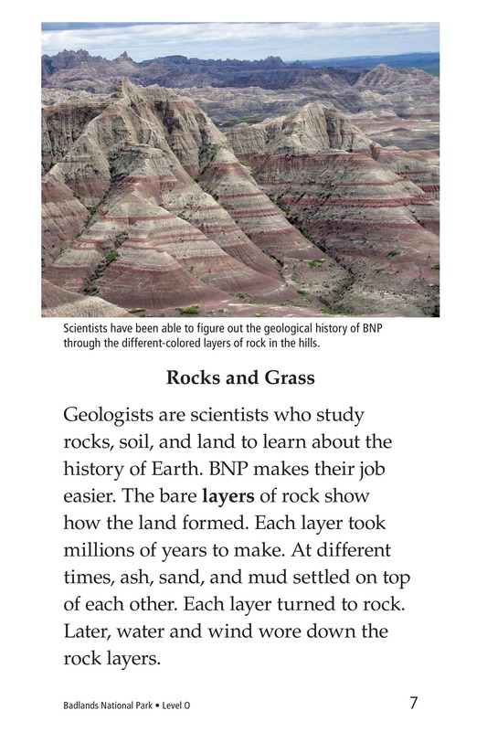Book Preview For Badlands National Park Page 7