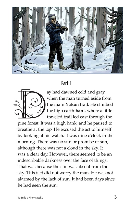 Book Preview For To Build a Fire (Part 1) Page 3