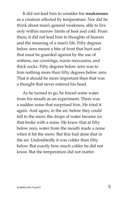Book Preview For To Build a Fire (Part 1) Page 5