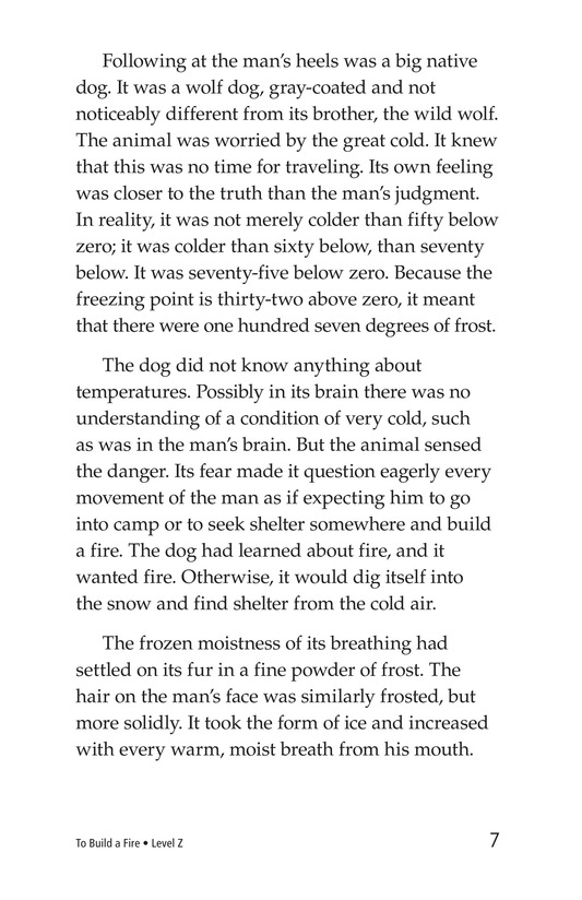 Book Preview For To Build a Fire (Part 1) Page 7