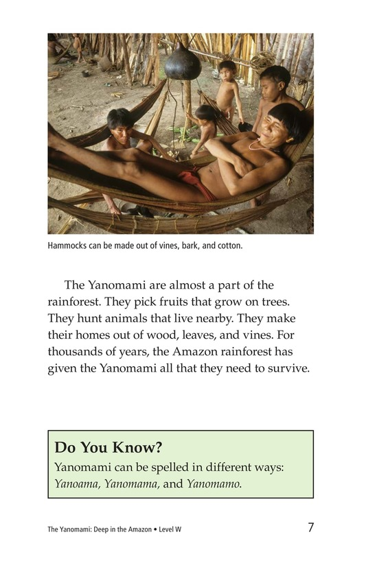 Book Preview For The Yanomami: Deep in the Amazon Page 3