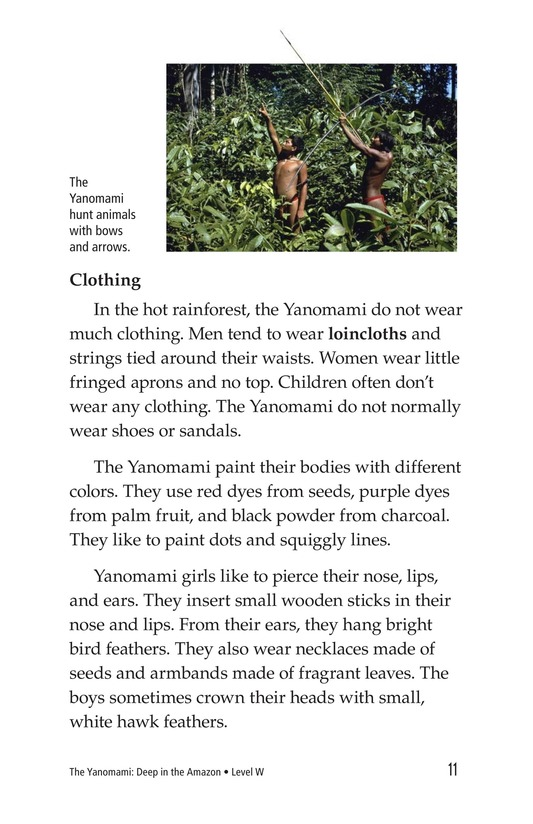 Book Preview For The Yanomami: Deep in the Amazon Page 7