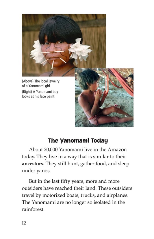Book Preview For The Yanomami: Deep in the Amazon Page 8