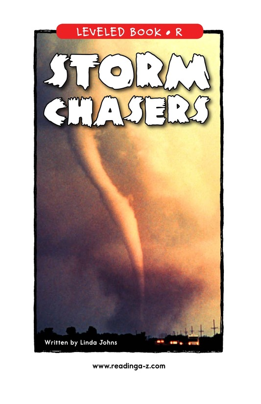 Book Preview For Storm Chasers Page 1