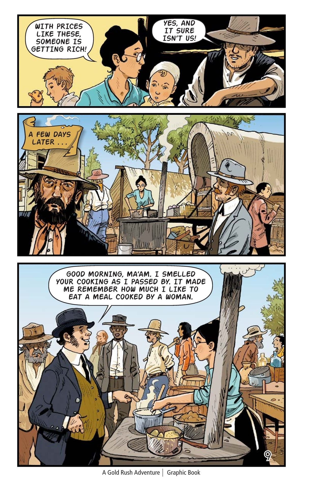 Book Preview For A Gold Rush Adventure Page 10